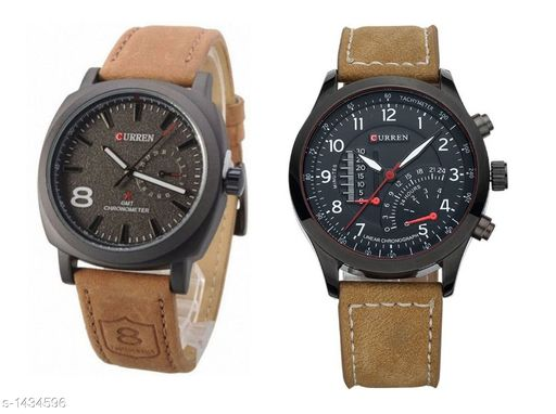 Watches Attractive Analog Combo Watches  *Material* Leather  *Size* Free Size  *Dial* Slim Dial  *Type* Analog  *Description* It Has 2 Pieces Of Men's Watches  *Sizes Available* Free Size *   Catalog Rating: ★4.4 (5)  Catalog Name:  Allure Attractive Analog Combo Watches Vol 4 CatalogID_185959 C65-SC1232 Code: 782-1434596-