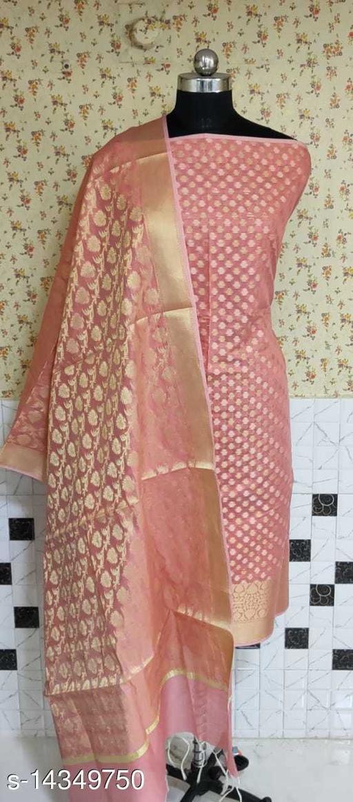 Banarsi Cotton Suit (6Peach)