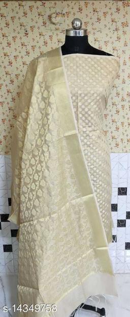Banarsi Cotton Suit (6Cream)