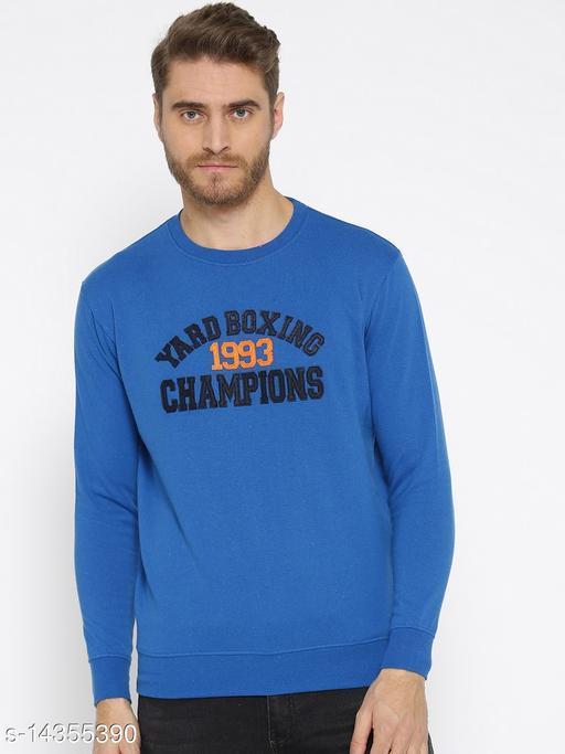 Harbor N Bay Blue Round Neck Sweatshirt