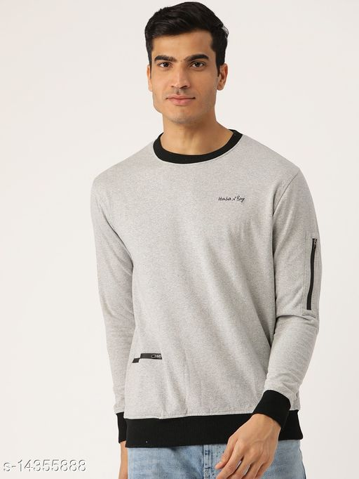 Harbor N Bay Grey Round Neck Sweatshirt