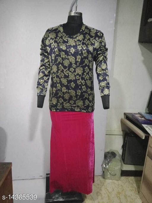 Carrel Women's Lycra Printed SweatshirtGold L