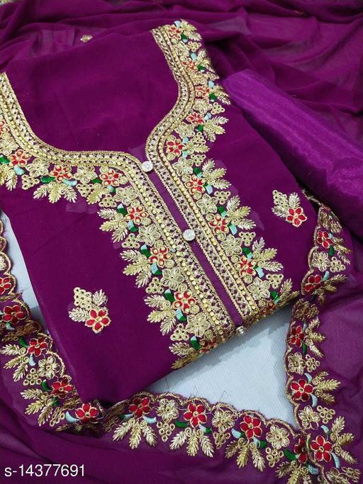 Jivika Pretty Salwar Suits & Dress Materials