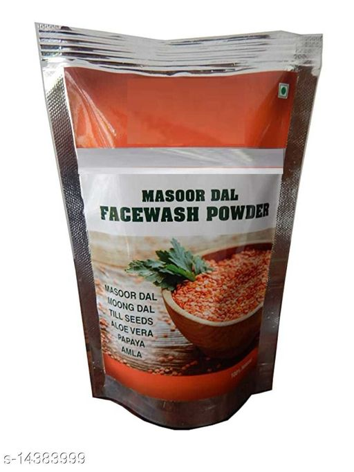 Masoor dal face pack for glowing skin