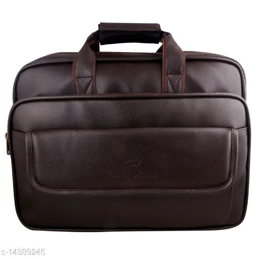 Stylish Men's Brown Messenger Bags