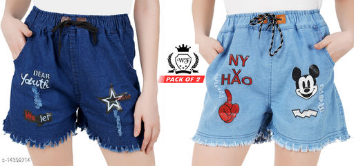 Attractive womens shorts