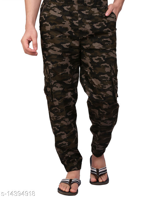 Abc Garments Camouflage Track Pant For Men's
