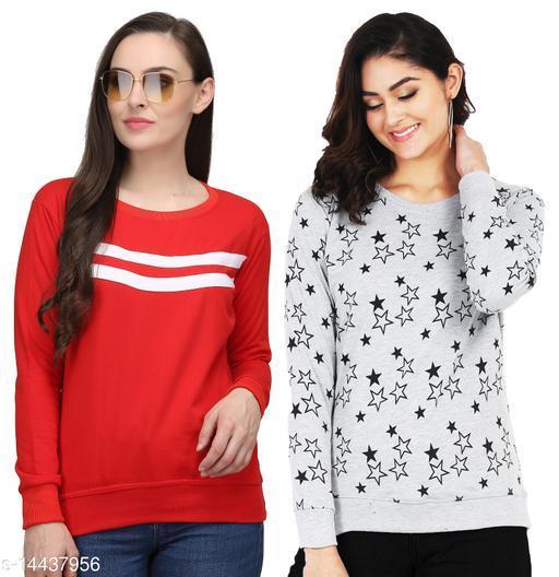 Leotude Women Combo Sweatshirts