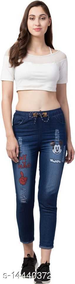 Jeans Classic Partywear Women Jeans Fabric: Denim Multipack: 1 Sizes: 26 (Waist Size: 26 in, Length Size: 35 in)  28 (Waist Size: 28 in, Length Size: 35 in)  30 (Waist Size: 30 in, Length Size: 35 in)  32 (Waist Size: 32 in, Length Size: 35 in)  Country of Origin: India Sizes Available: 26, 28, 30, 32 *Proof of Safe Delivery! Click to know on Safety Standards of Delivery Partners- https://ltl.sh/y_nZrAV3  Catalog Rating: ★3.5 (6)  Catalog Name: Classic Fabulous Women Jeans CatalogID_2864879 C79-SC1032 Code: 723-14440372-