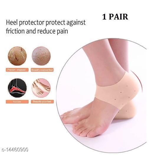 Silicone Heel Anti-Crack Set (FREE SIZE) -SKIN COLOR