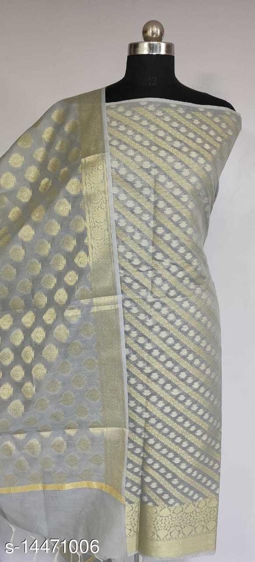 Banarsi Cotton Suit (4Grey)