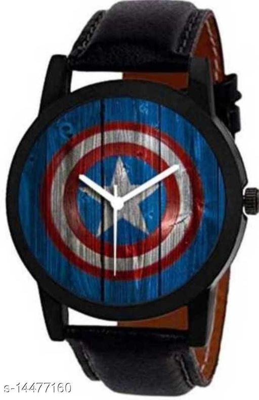 RTK New Captain America Fabulus Design With Awesome Look Watch For Boys,Men