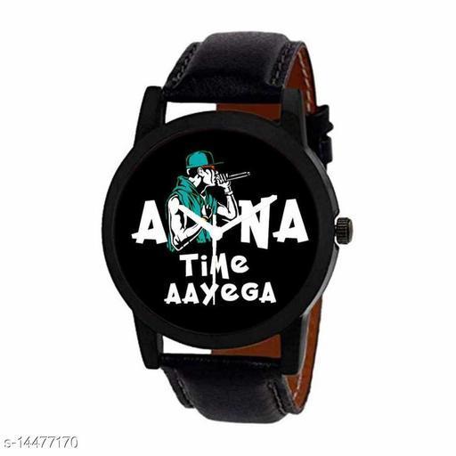 RTK New Stylish Latest Apna Time Ayega Fabulus Designer Watch For Boys,Men