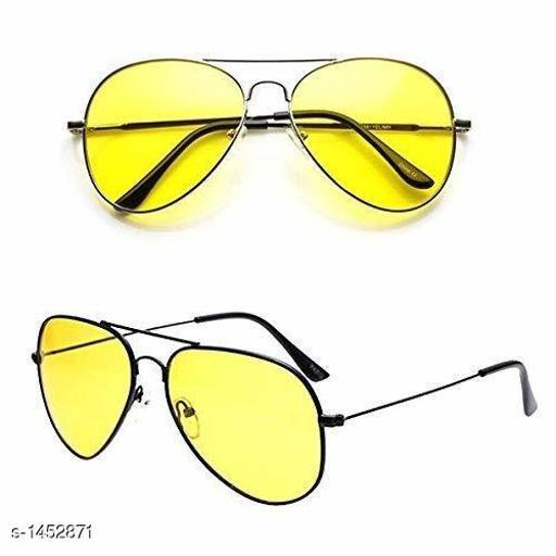 Trendy Unisex Plastic Sunglasses Combo
