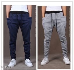 Men's Casual Solid Track Pant(Pack Of 2)