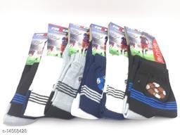 Premium ankle socks/sport socks (6 pair socks)(for men and women, free size, multicolor)
