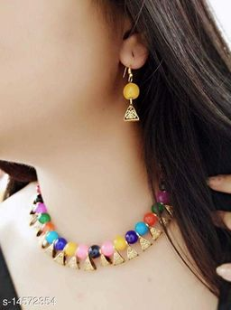 All time Favourite Beads Necklace Set for Women