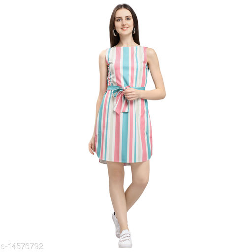 Yuvraah Women's Printed Dress