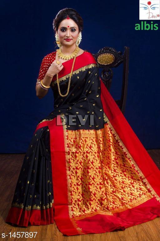 Fashionable Banarasi Kanjivaram Silk Saree