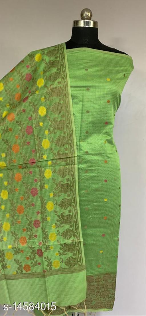 Banarsi Cotton Suit (43Mint Green)
