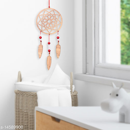 Dream catcher Wall Hanging for the Home and Car Hanging (Brown Mandala)