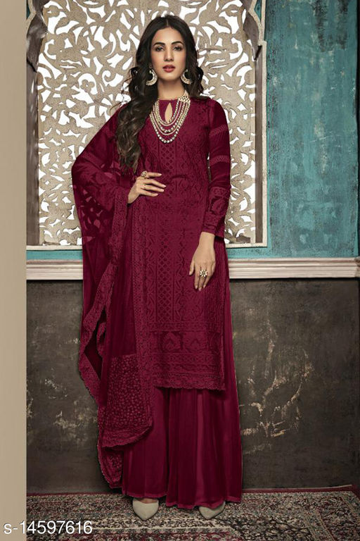 Designer And Party Wear Salwar Suit And Anarkali Gown