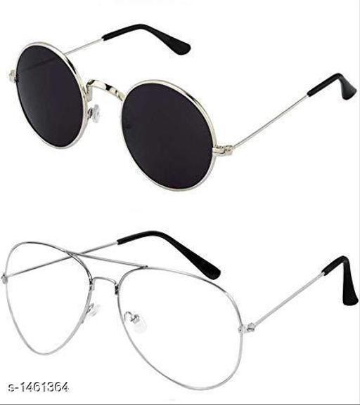 Stylish Sunglasses ( Pack Of 2 )