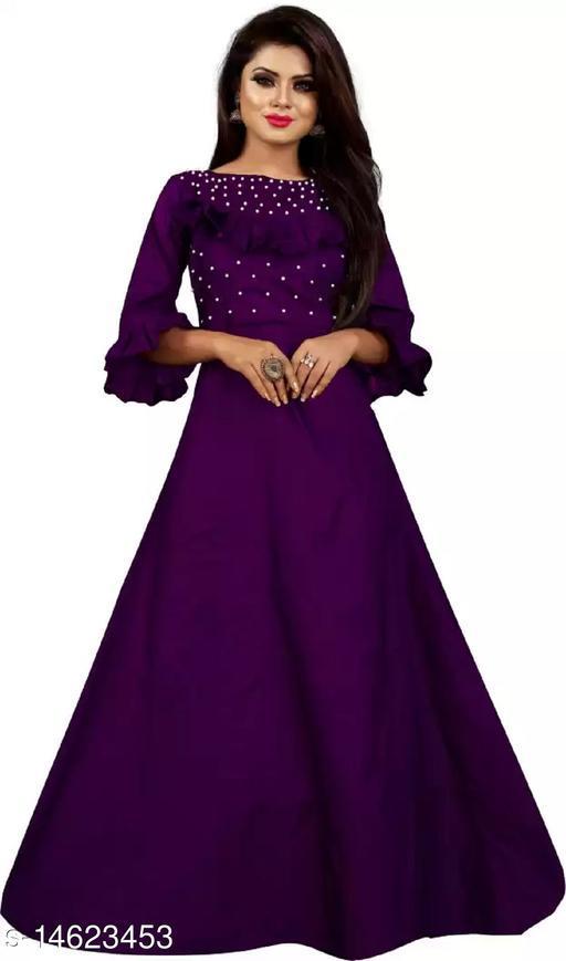 Aradhya Glamarous Women Gowns