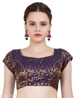 ND&R Womens Readymade Fully Stitch Designer Saree Blouse