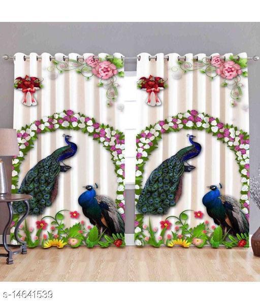 FAB FLAT digital 9ft window SINGLE curtain