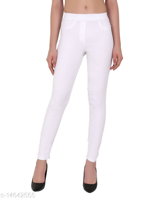 ND & R Women's Ankel Length Stretchable Jegging Pants