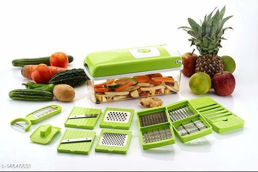 Multipurpose Vegetable and Fruit Chopper Cutter Grater Slicer NICER DICER 12 IN 1