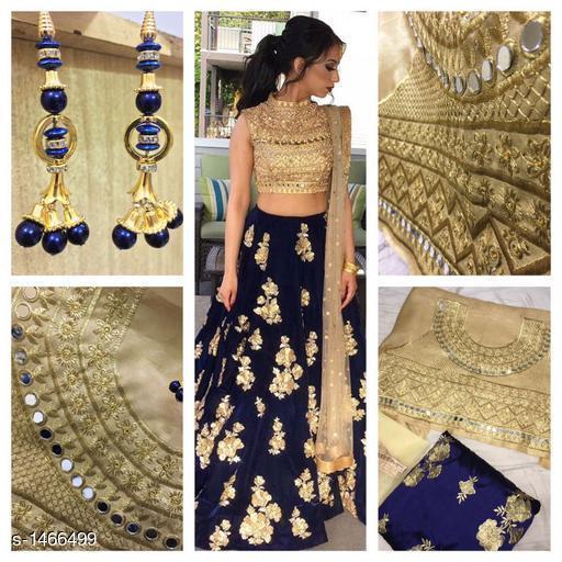 Ravishing Tapeta Silk  Attractive Party Wear Lehenga