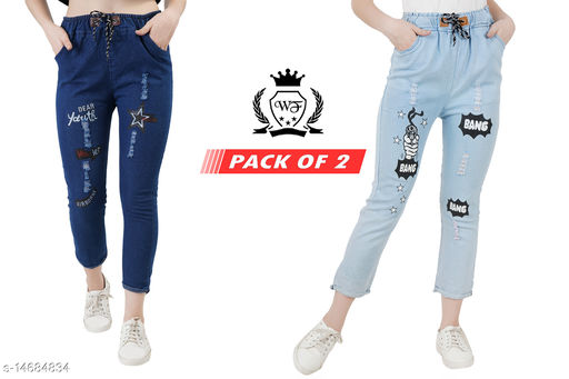 Attractive Womens Jeans