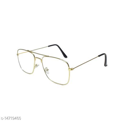 TAJ Square Metal Eyewear Frame For Men & Women