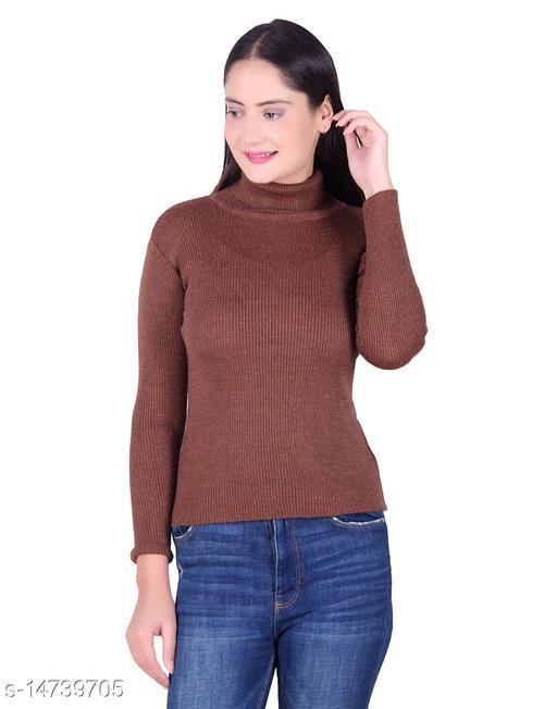 Ogarti woollen high neck Women's skivy