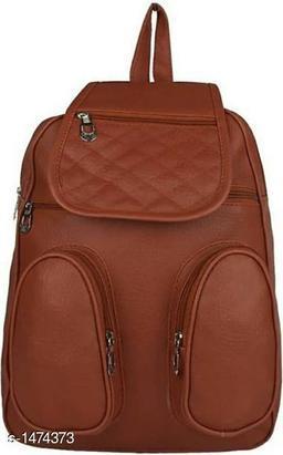 Elegance PU Unisex Backpack