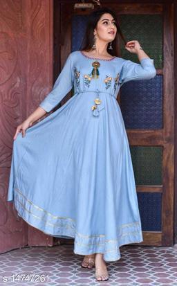 Heavy Rayon Gown/Anarkali