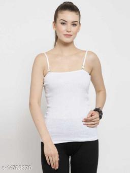 Women's Cotton Solid Camisoles Slip