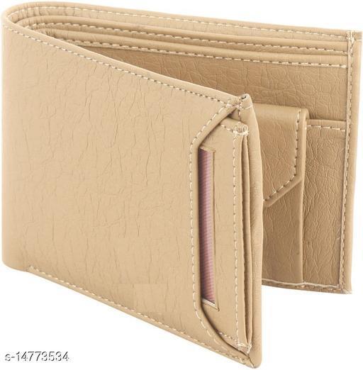 Stylish Men's Cream Wallet