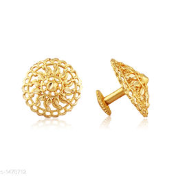 Fancy Trendy Metal & Alloy With Brass Earring