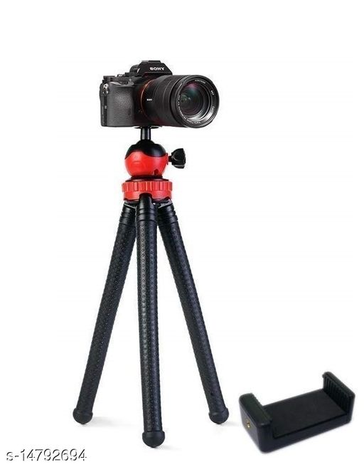 MedFest® Camera Flexible Tripod, Waterproof 12 Inch Gorilla Tripod Lightweight Bendable, Compatible with GoPro Action Camera DSLR Mobile etc. (Supports upto 1.5 KG)
