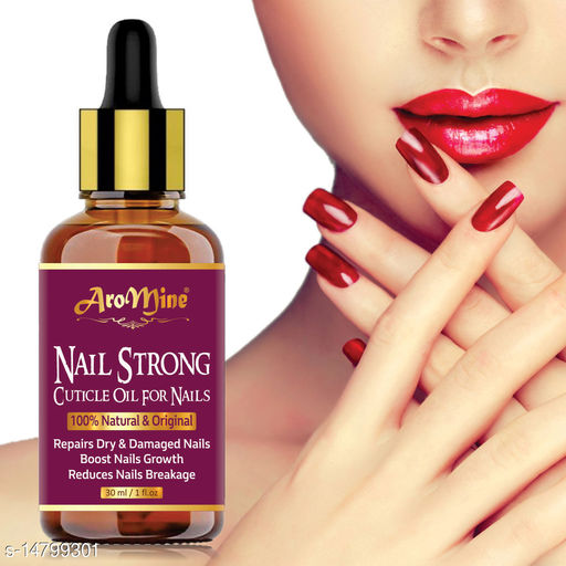 Natural Nails Strong Oil For Cuticle Care, Nail Growth & Strength -30ML YELLOW