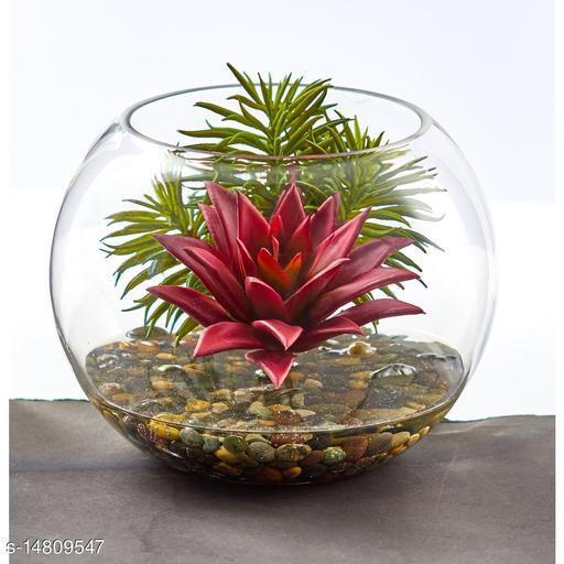 Glass Round Vase