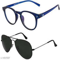 Women Stylish Sunglasses ( Pack Of 2)