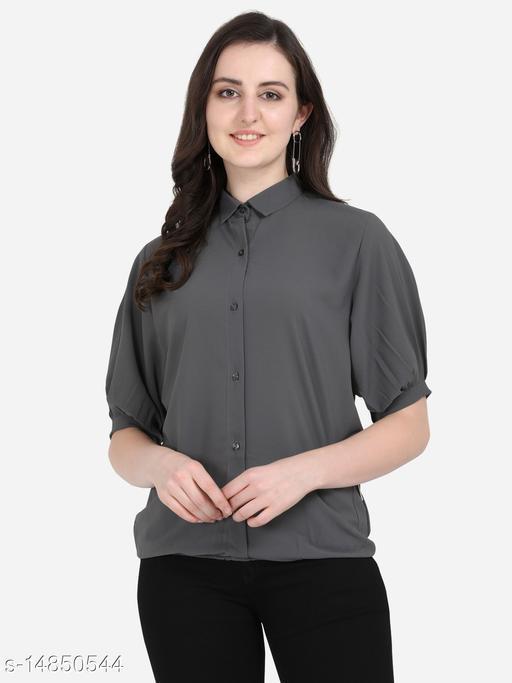 Yuvraah Women Polyester Shirt