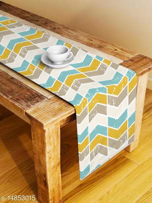 Azalea Digital Printed 4 Seater Table Runner, 13 x 60 Inches