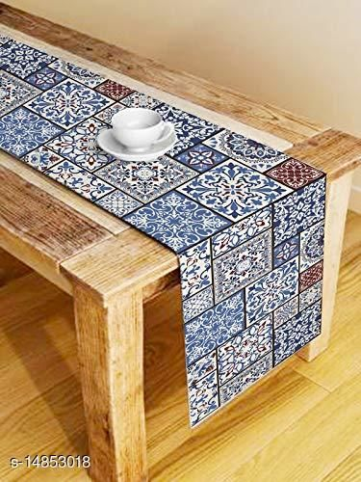 Azalea Digital Printed 6 Seater Table Runner, 13 x 72 Inches