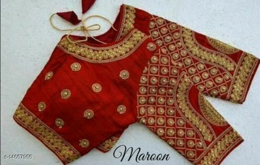WOMAN LATEST EMBRODERY DESIGN STITCHED BLOUSE SV ENTERPRISE