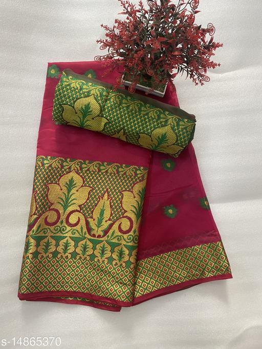 Beautiful Banarasi type Art silk sarees